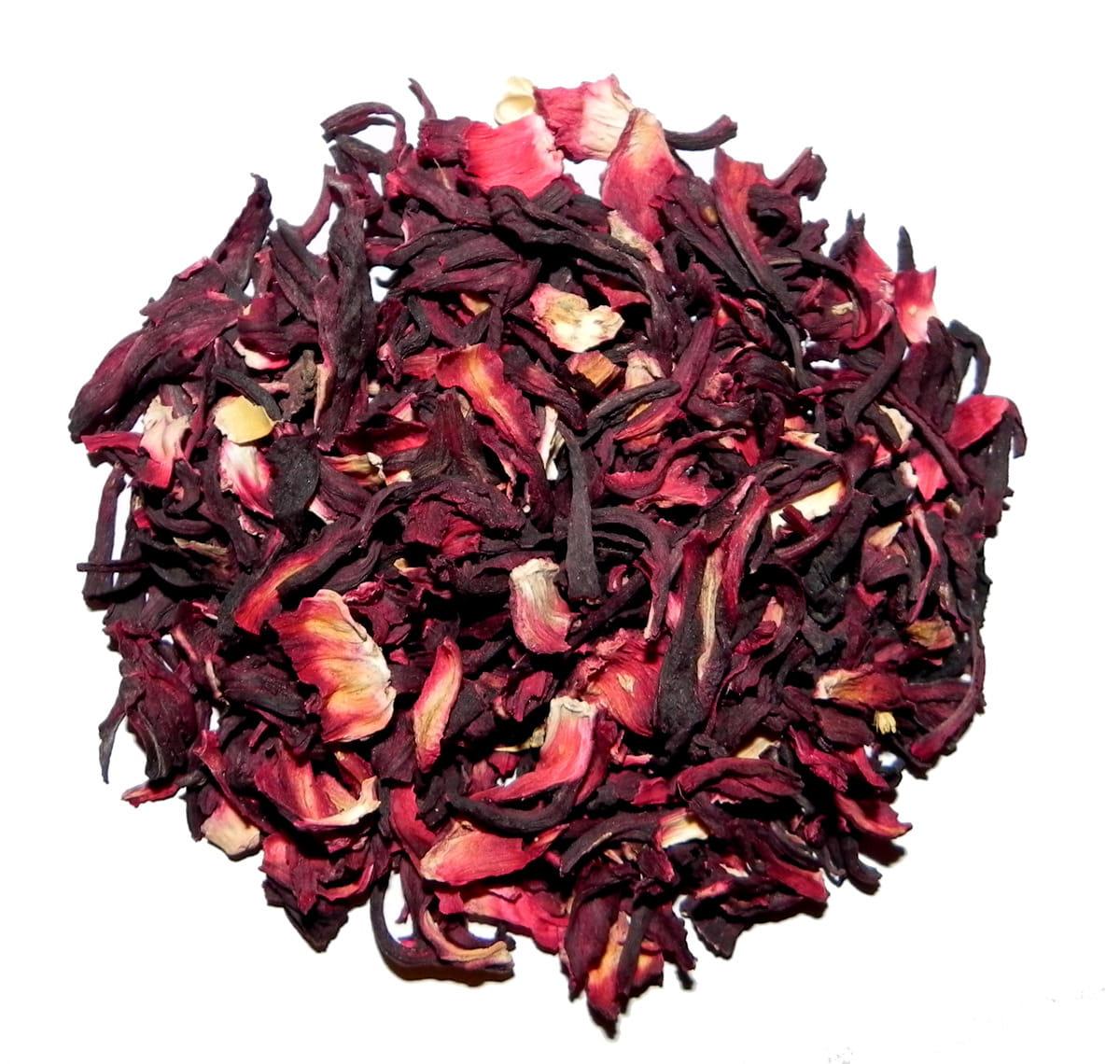 Kwiat hibiskusa hibiskus suszony herbatka 5kg Targroch