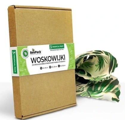 Woskowijka rozmiar S, M, L Tropical Pack BeePack