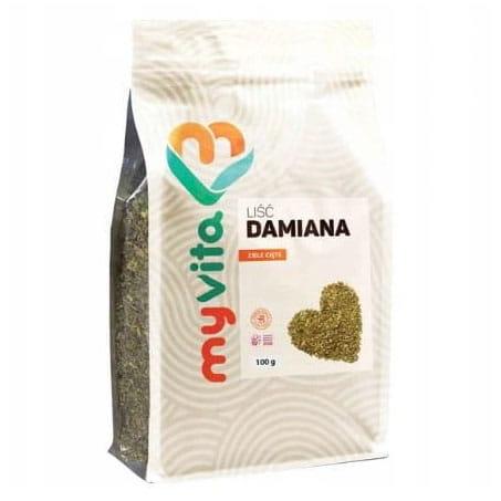 Liść Damiana ziele cięte 100 g MyVita