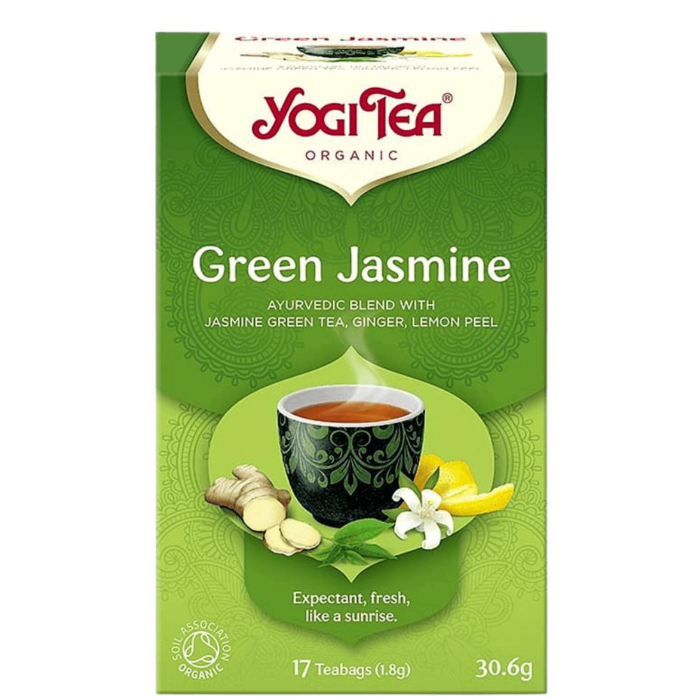 HERBATA ZIELONA JAŚMINOWA (GREEN JASMINE) BIO (17 x 1,8 g) 30,6 g - YOGI TEA
