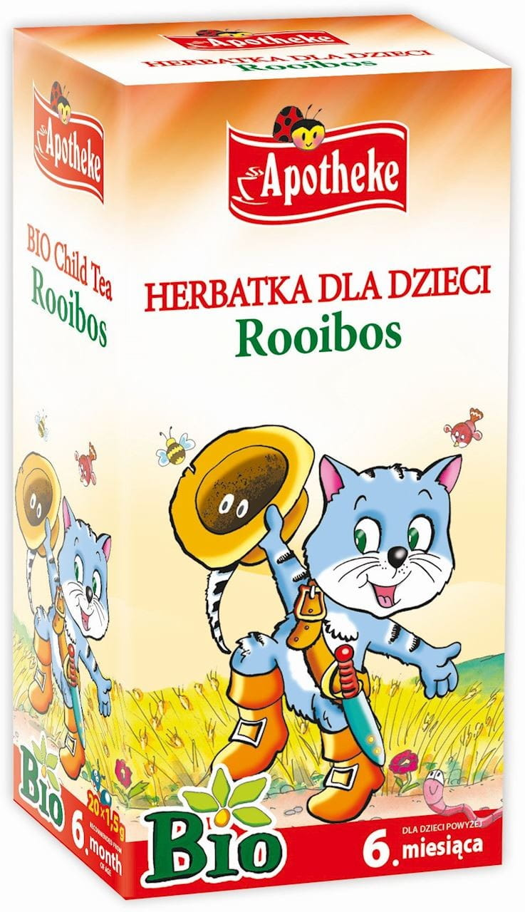 HERBATKA DLA DZIECI - ROOIBOS BIO 20 x 1,5 g